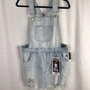 Rewash skirt overalls